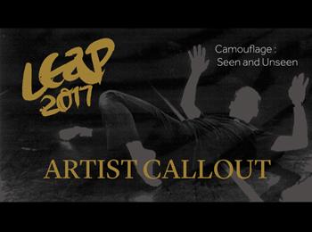 LEAP Festival Artist Callout